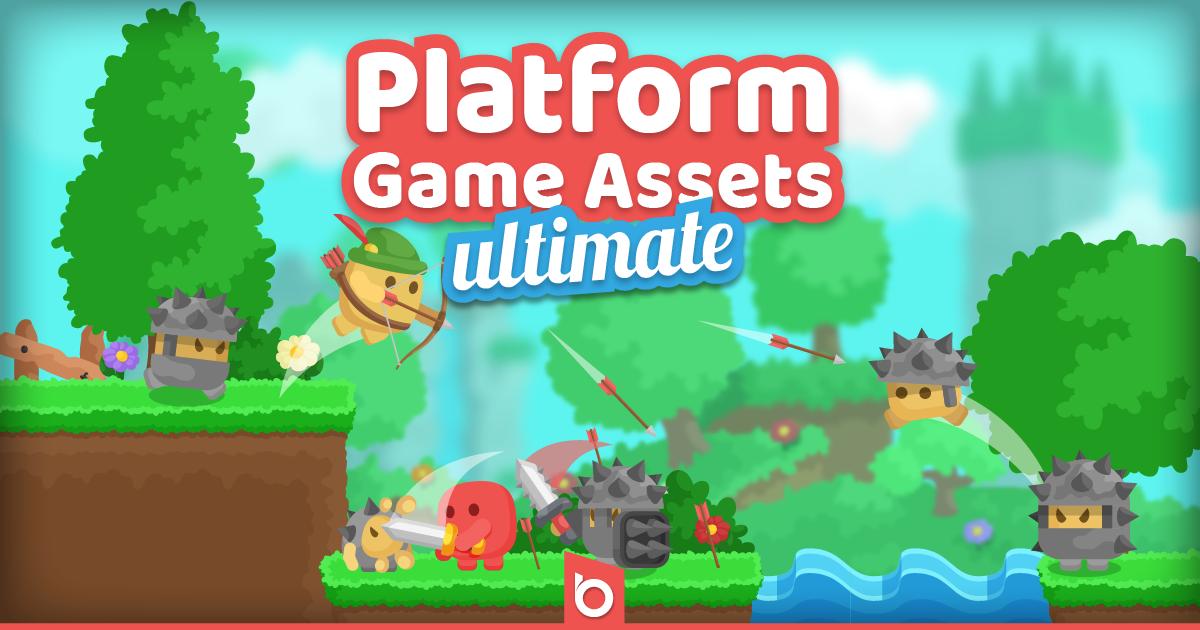 Platform Game Assets Ultimate