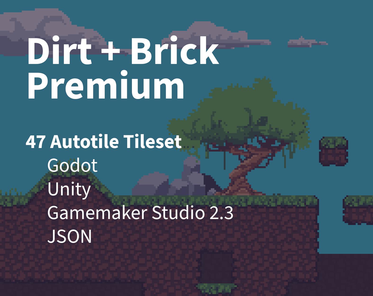 Dirt + Brick Premium