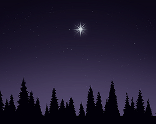 Star in the lake