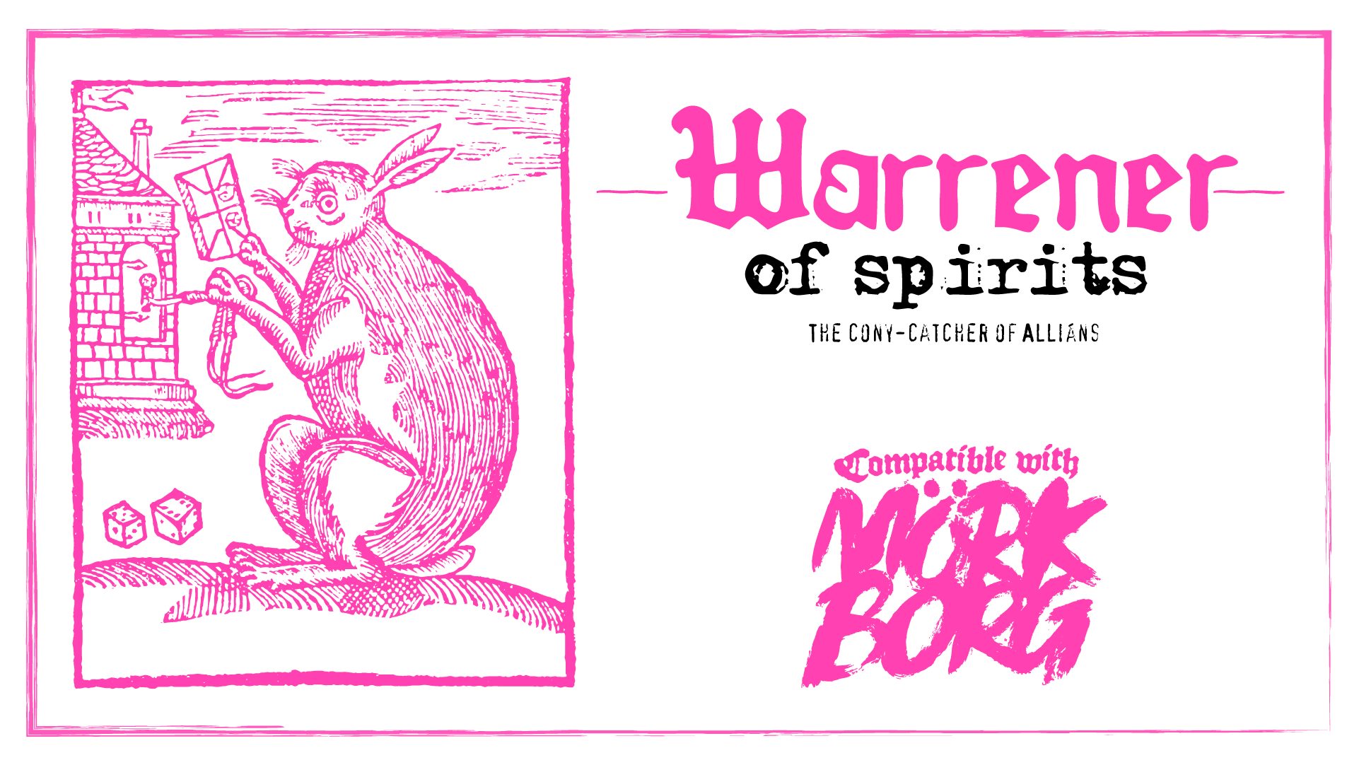 Warrener of Spirits | The cony-catcher of Alliáns