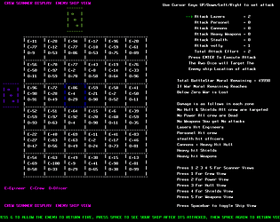 Scanner War , unusual text based wargame