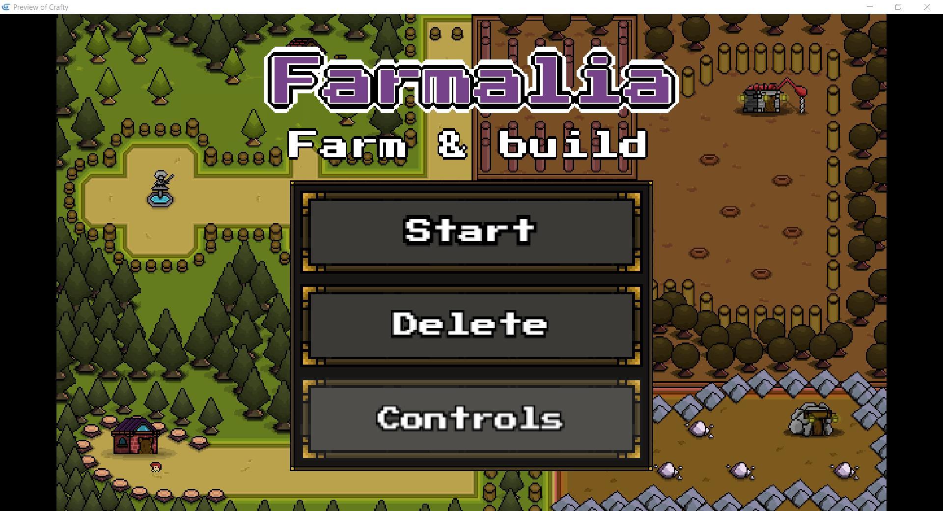 GDevelop - Farmalia - Farm & Build GDevelop 5 template