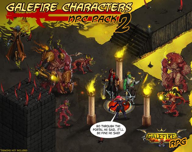 Galefire Characters | NPC Pack 2