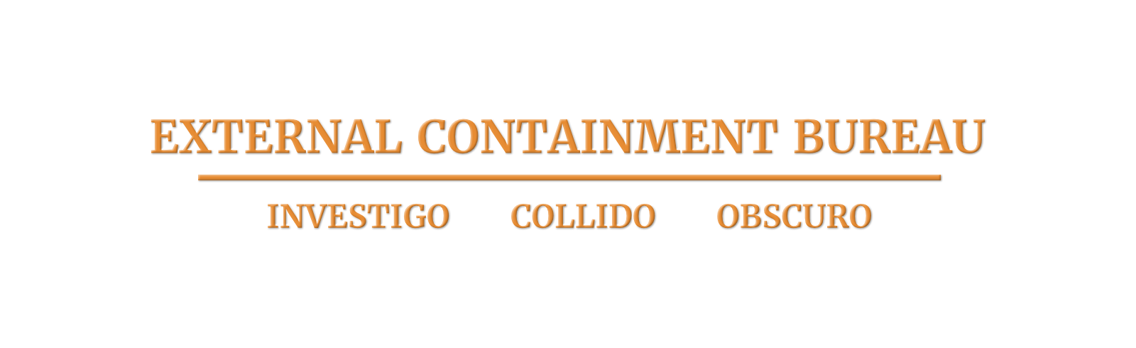 External Containment Bureau