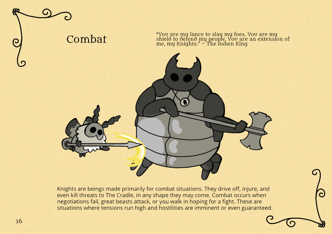 Combat Page