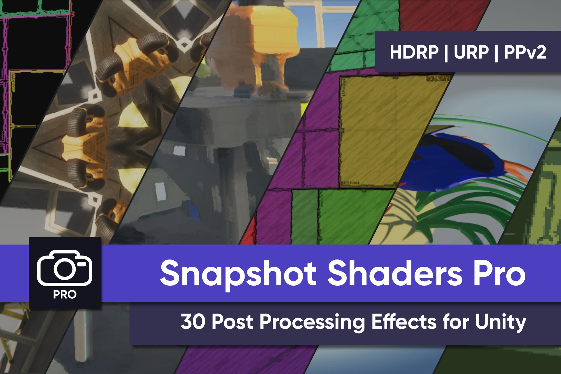 Snapshot Shaders Pro (Unity)