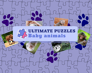Ultimate Puzzles Baby Animals