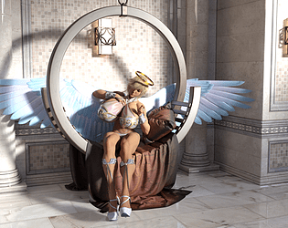 Everyone Has Giantess Angel Waifus in Heaven