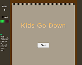 KidsGoDown (WebGL and PC)
