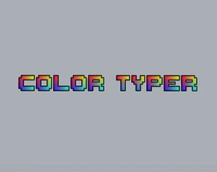 Color Typer
