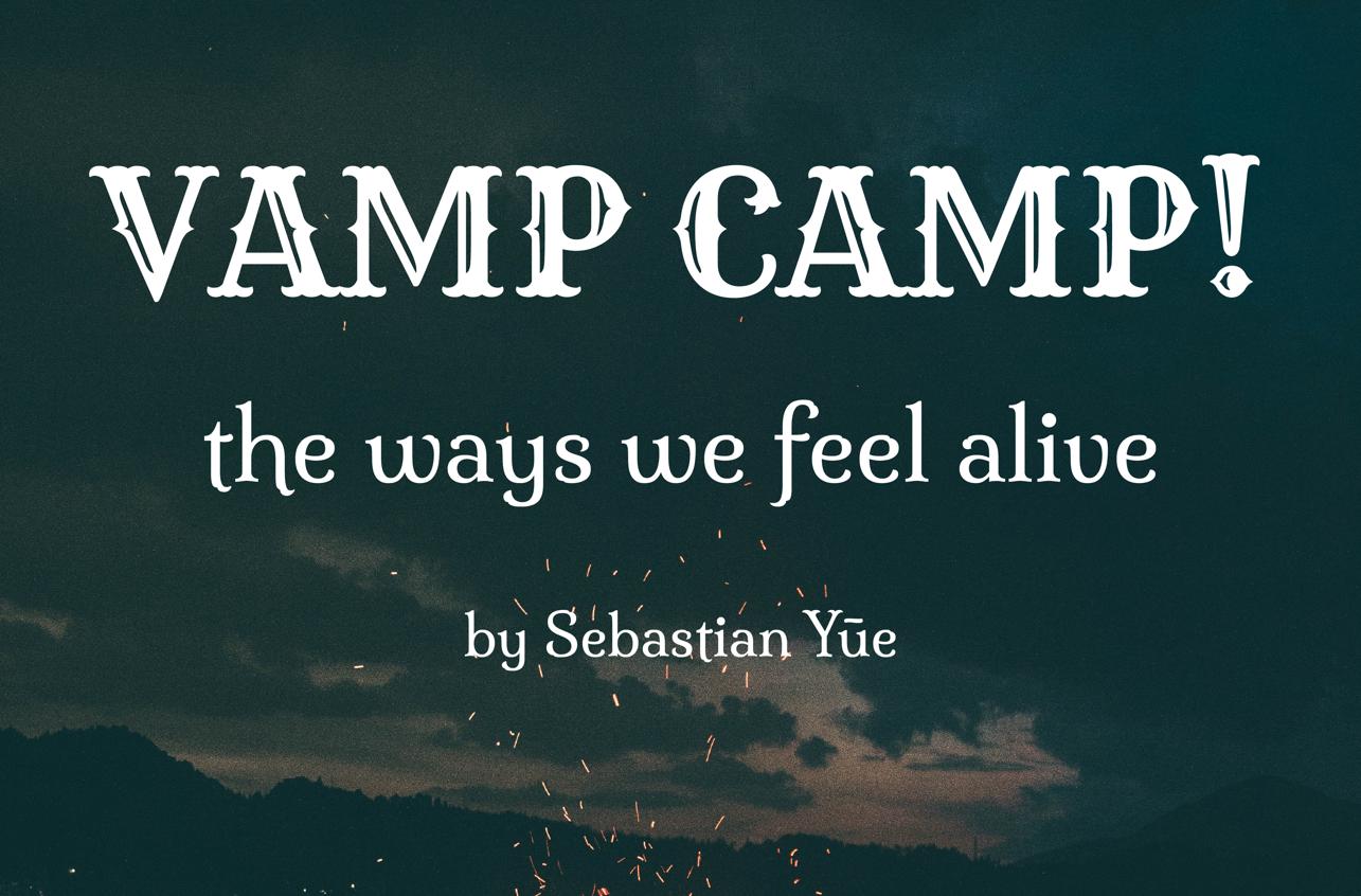 VAMP CAMP!