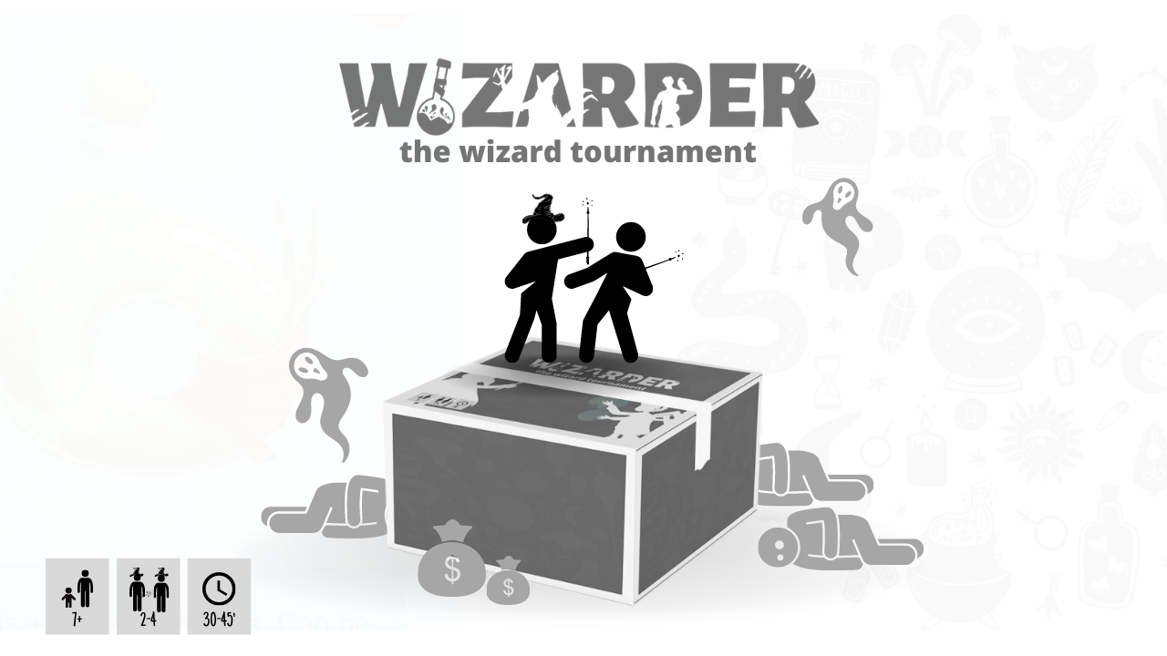 Wizarder: The wizard tournament