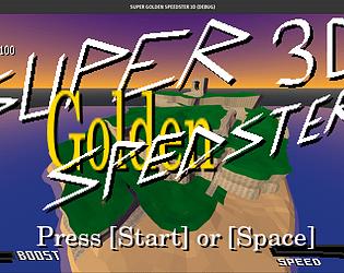 Super Golden Speedster 3D