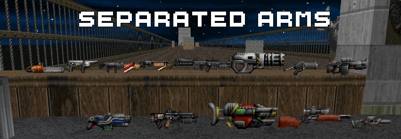 Separated Arms (A Hideous Destructor reskin pack)