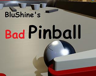 Blushine's Bad Pinball in Godot