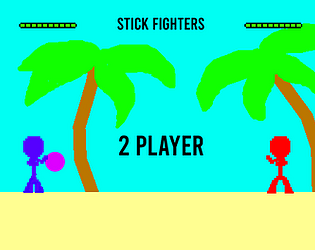 Stick Fighters Mobile Version (2 Players)