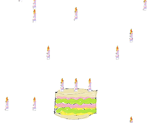 Candle Catch Birthday