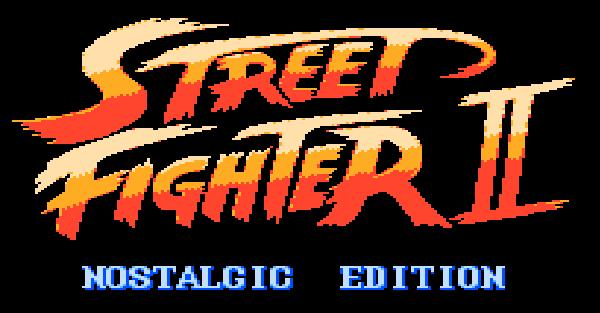 Street Fighter II NE (NES DEMO)
