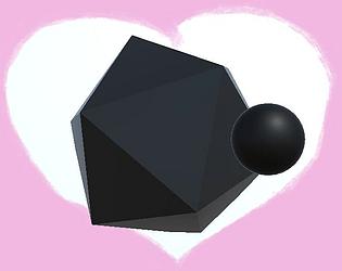 Ball And Icosahedron Love