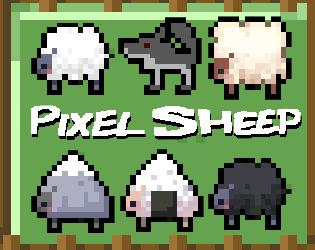 [Art] Pixel Sheep