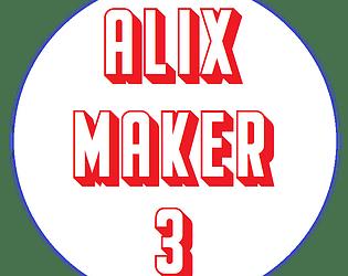 Alixmaker3 le jeu