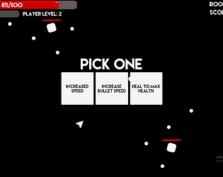 Bullet Hell Game