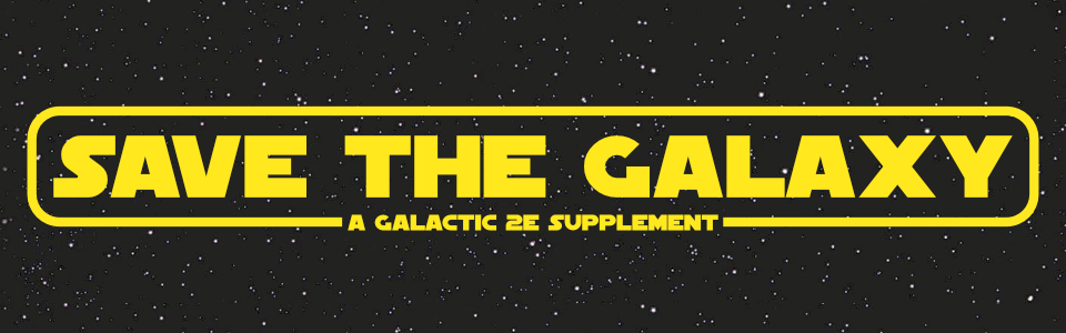 Save the Galaxy: A Plot Guide for Galactic 2e