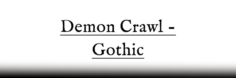 Demon Crawl - Gothic (Quickstart Edition)