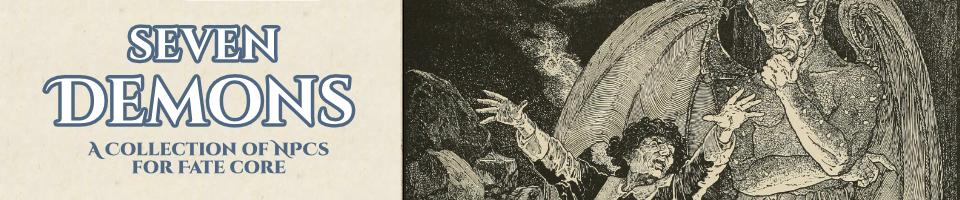 Seven Demons: A Fate Supplement