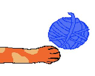 Cat pong