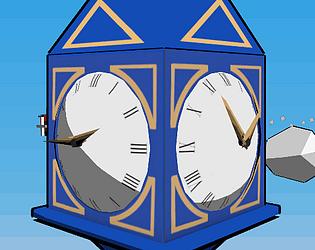 The Blue Clock Drop