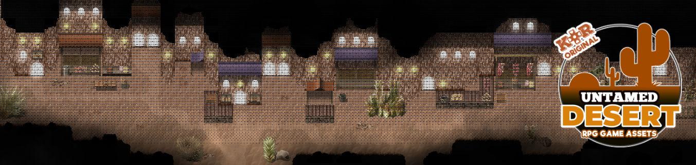 KR Untamed Desert Tileset for RPGs