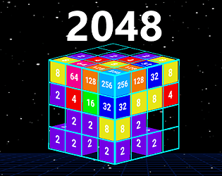 2048 With a Twist 3D