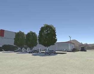 Tesla Driving Simulator