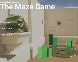 My frist Game_The Maze Game