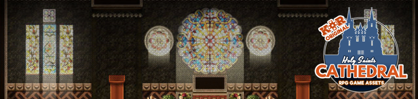 KR Holy Saints Cathedral Tileset for RPGs + Wedding