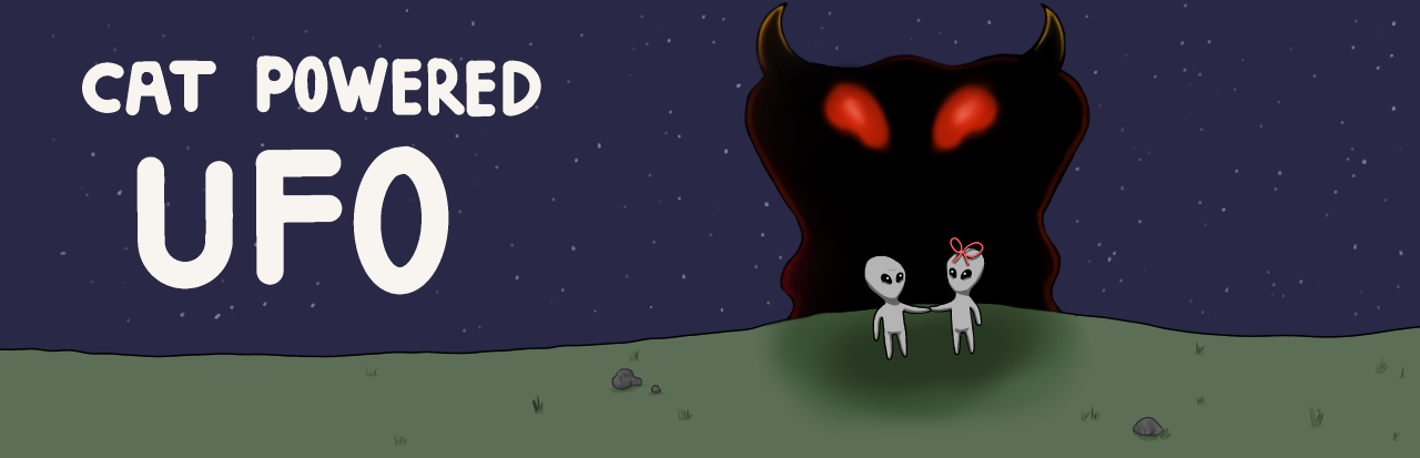 Cat Powered UFO