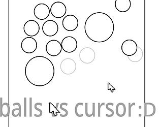 balls vs cursor