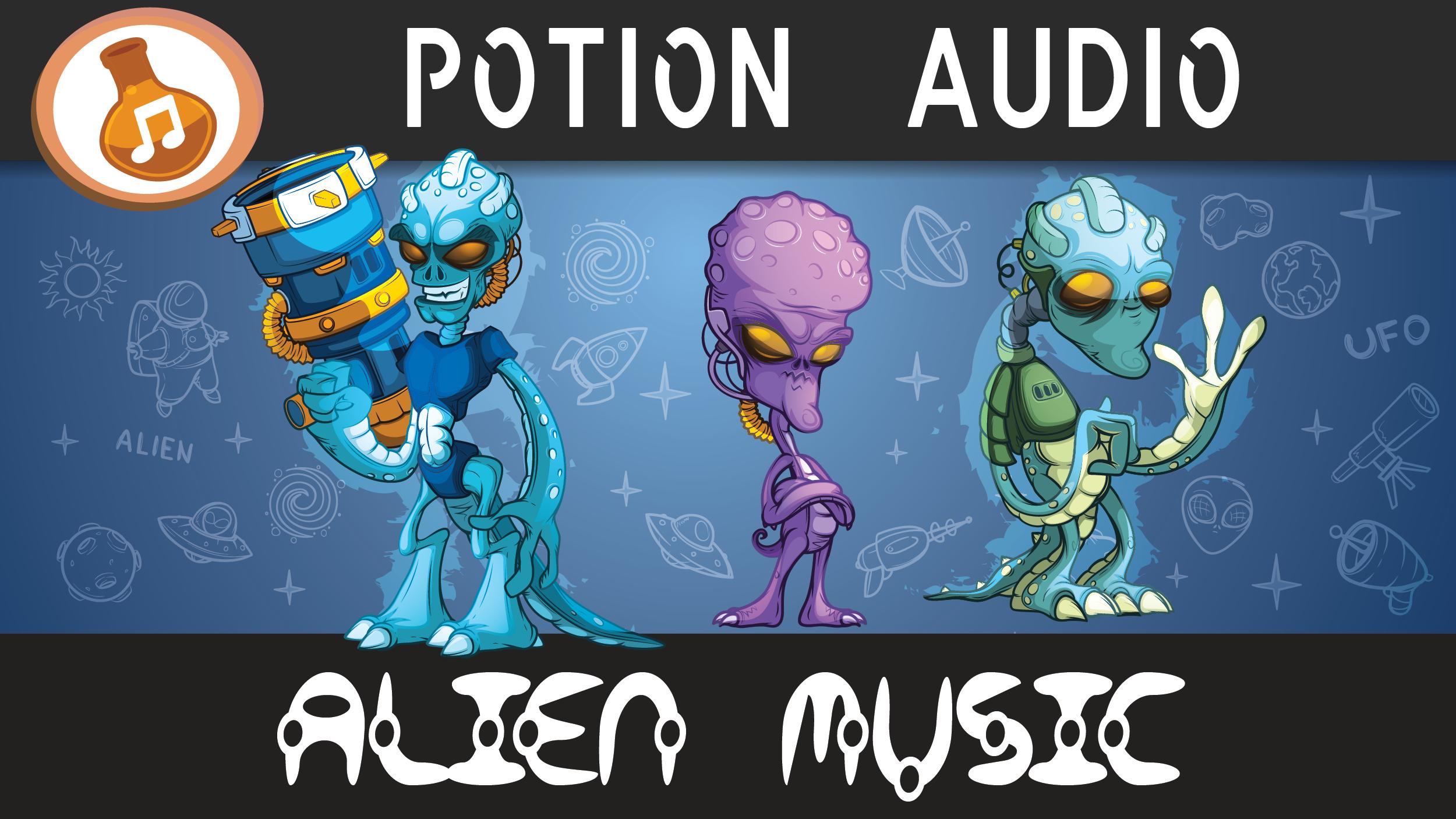 Alien Casual Music Loops