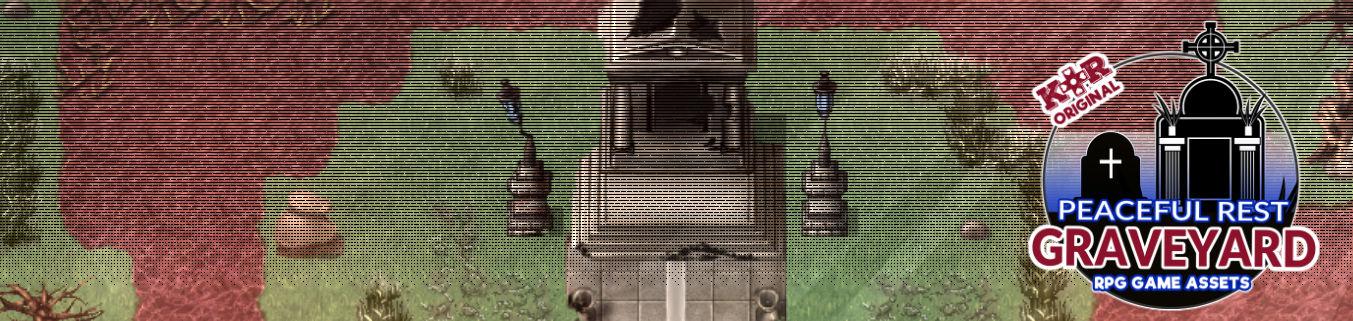 KR Peaceful Rest Graveyard Tileset for RPGs