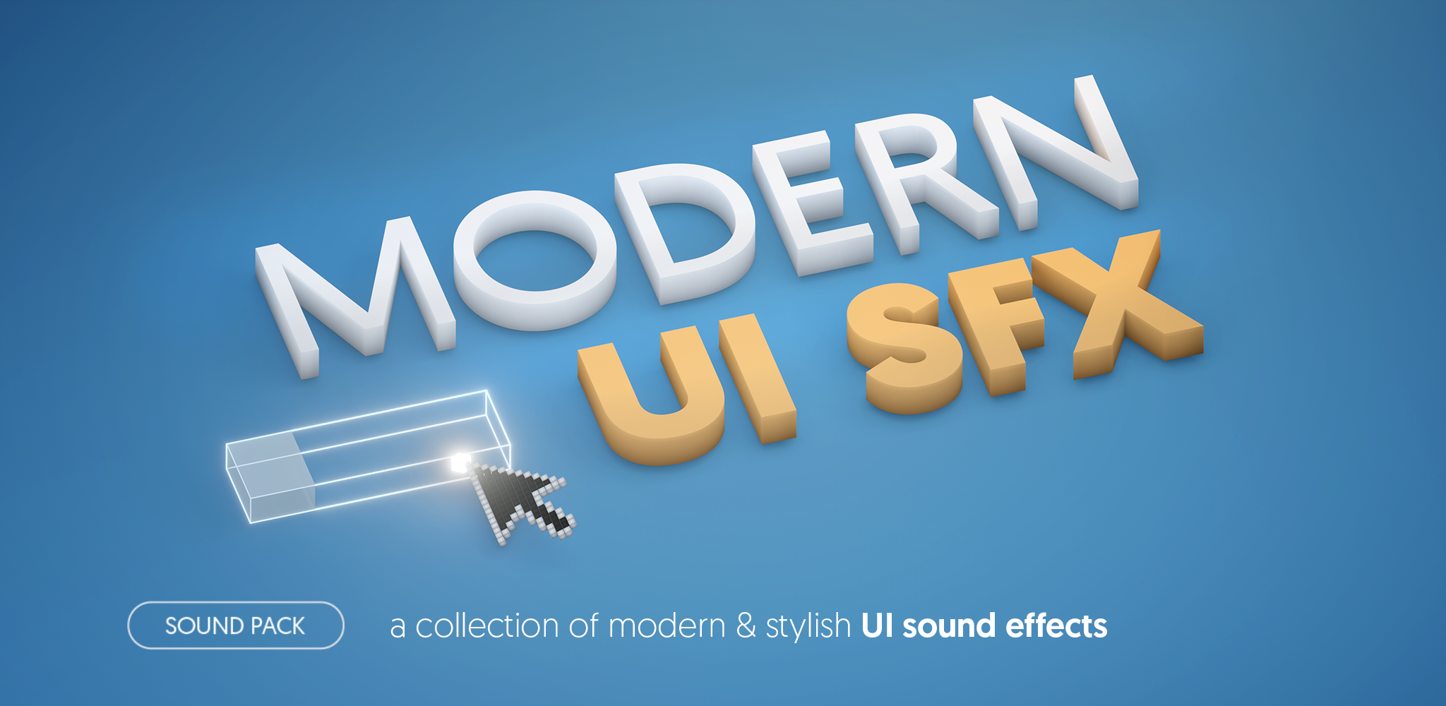 Modern UI SFX - sound pack