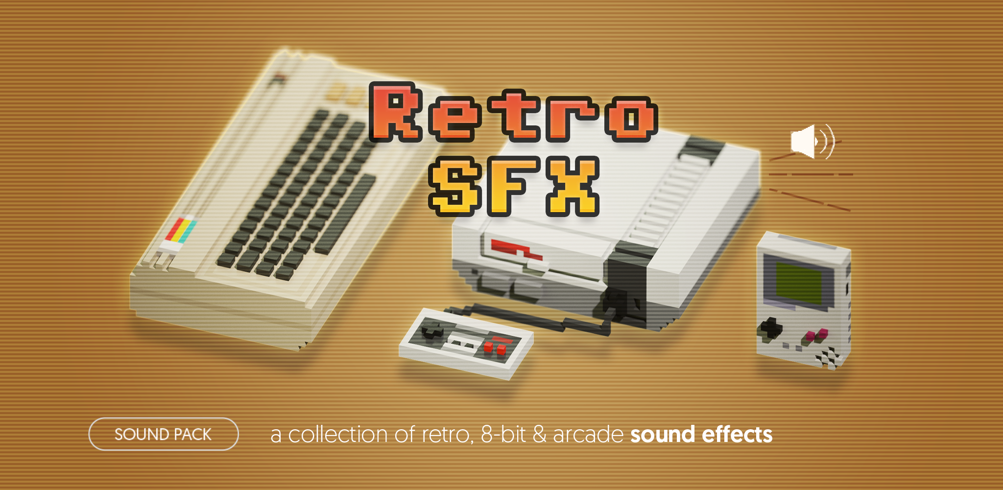 Retro SFX - sound pack