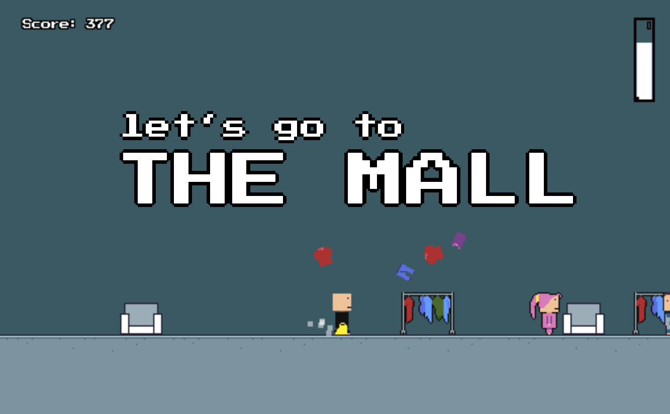 Let's go to the mall