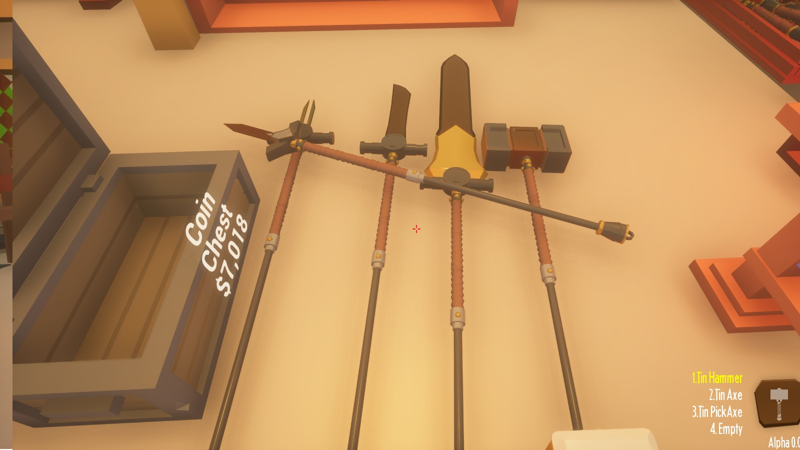 A collection of Polearms - each verified and able to be sold