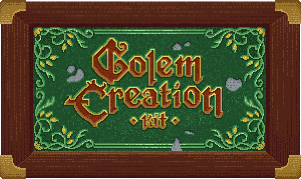 Golem Creation Kit By Winterslice