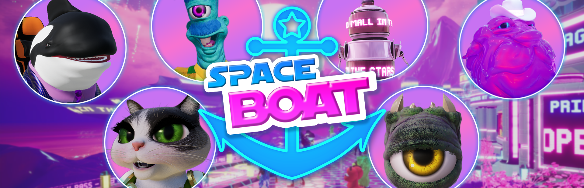 Space Boat - Demo