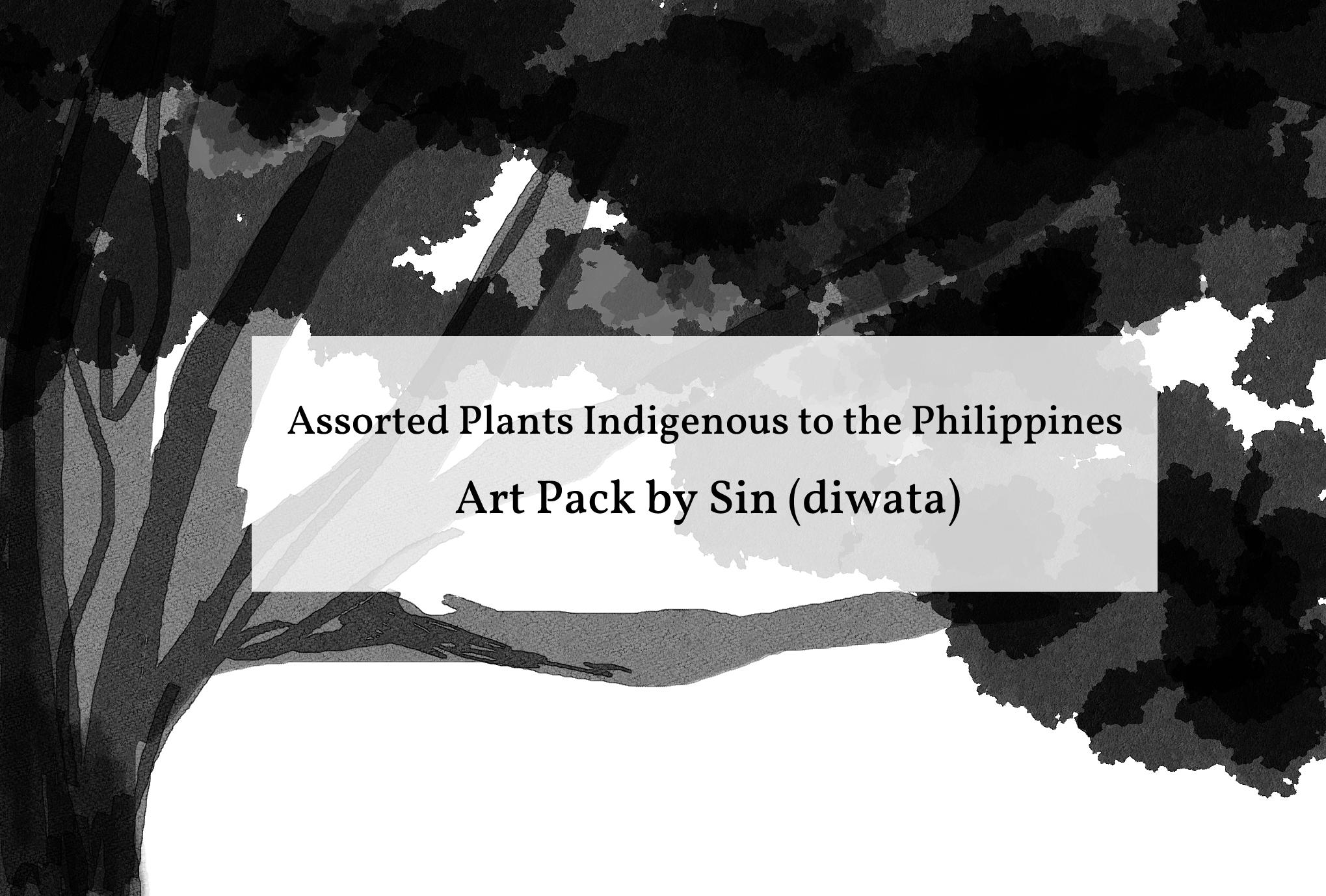 Philippine Flora Art  Pack