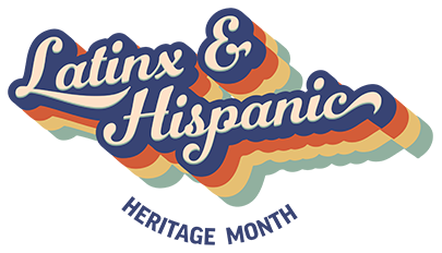 latinx and hispanic heritage month graphic