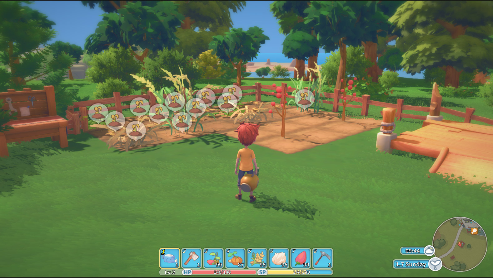Farming - To be or not to be? - My Time At Portia by patheagames