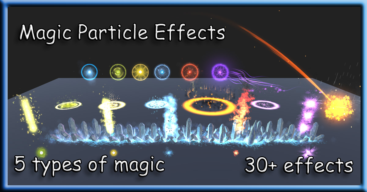 Magic Particle Effects for Unity3D - Release Announcements - itch io
